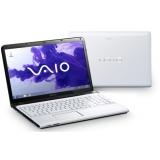 "Sony VAIO SVE1512E1EW, Intel Core i3-3110M (2.4 GHz, 3MB L3), 15.5"" WXGA (1366x768), Intel HM76, 4GB, 500GB, DVDRW, AMD Radeon HD 7650M 1GB , 802.11b/g/n, BT, Windows 8, White"