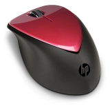 Мишка, HP Wireless Mouse X4000 with Laser Sensor - Ruby Red
