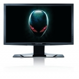"Dell Alienware OptX AW2310, 23"" 3D Wide LCD, TN Panel, 3ms GTG, 80000:1, 400 cd/m2, 1920x1080 Full HD, 120Hz, 4 USB, DVI, HDMI, HDCP, Height Adjustable, Black"