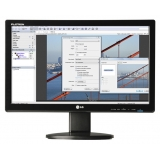 "LG N194WA-BF, 19"" Wide, LCD, 5ms, 20000:1 DFC, 250cd, 1440x900, Network Monitor, Tilt, Glossy Black"