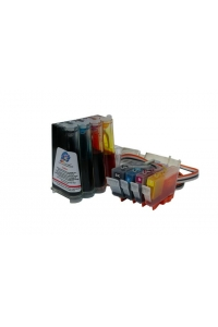 Continuous Ink Supply System (CISS) СНПМ for printers Canon with number of cartridges - PGI-5BK, CLI-8C, CLI-8M, CLI-8Y