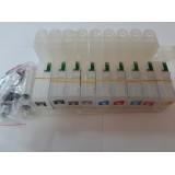 Система за непрекъснато подаване на мастило (СНПМ) CISS за  Epson Stylus Pro с номер на касети -  T5802, T5807, T5805, T5809, T5808, T5801, T580B, T580A, T5804