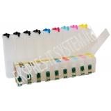 Система за  непрекъснато подаване на мастило (СНПМ) CISS за принтер Epson с номер на касети -  T1571, T1572, T1573, T1574, T1575, T1576, T1577, T1578, T1579