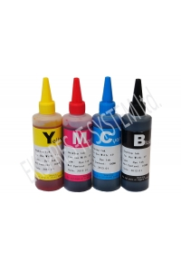 Set of dye based ink 100 ml /4 colors/