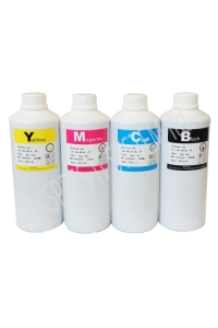 Set of dye based ink 1000 ml /4 colors/