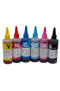 Set of dye based ink 100 ml /6 colors/