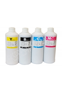 Set of pigment ink  1000 ml / 4 colors/