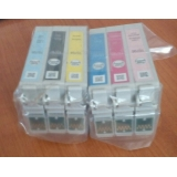 Оригинални мастилени касети за принтери Epson с номер на касети Т0791 - Т0796
