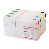 Зареждаеми или още презареждащи се мастилени касети за принтери Epson с номер на касети - T7011-T7014;  T7021-T7024; T7031 -T7034