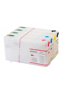 Refillable ink cartridges for printers Epson WorkForce Pro WP-4025DW/WP4525DWF/ WP4535DWF