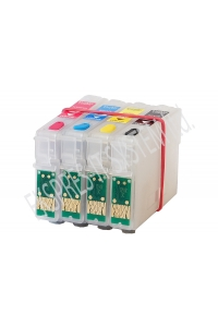 Refillable ink cartridges for printers Epson Stylus WF7015/7515