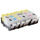 Зареждаеми или още презареждащи се мастилени касети за принтери Canon с номер на касети - PGI-525BK / CLI-526BK/C/M/Y/GY