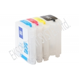 Зареждаеми или още презареждащи се мастилени касети за принтери HP с номер на касети - 88