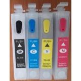 Зареждаеми или още презареждащи се мастилени касети за принтери Epson 16XL, с номер T1631 - T1634 и T1621 - T1624