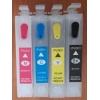 Зареждаеми или още презареждащи се мастилени касети за принтери Epson 18XL, с номер T1801 - T1804 и T1811 - T1814