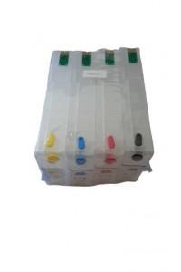 Зареждаеми или още презареждащи се мастилени касети за принтери Epson 79XL, с номер T7911-T7914 и T7901-T7904