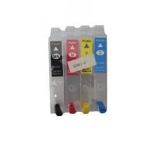 Зареждаеми или още презареждащи се мастилени касети за принтери Epson, с номер T2991 - T2994